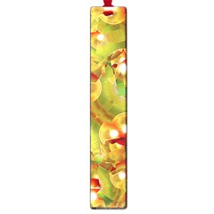 Christmas Print Motif Large Bookmark by dflcprints