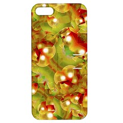 Christmas Print Motif Apple Iphone 5 Hardshell Case With Stand by dflcprints