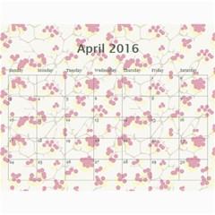 4 Dragon Calendar By Alice Lam   Wall Calendar 11  X 8 5  (18 Months)   4v8tryyrnwsf   Www Artscow Com Apr 2016