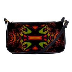 Crazy Florescent Fractal Evening Bag by OCDesignss