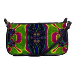 Hippie Fractal  Evening Bag by OCDesignss