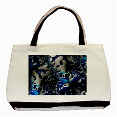 Glossy Blue Fractal  Classic Tote Bag by OCDesignss