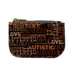 I Love Someone Autistic  Coin Change Purse by OCDesignss