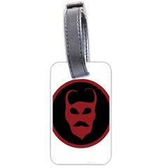 Devil Symbol Logo Luggage Tag (one Side) by dflcprints