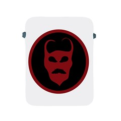 Devil Symbol Logo Apple Ipad Protective Sleeve by dflcprints