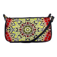 Red Yellow Kielidescope  Evening Bag by OCDesignss