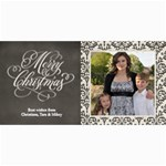 Christmas Sentiments II Card No. 2 - 4  x 8  Photo Cards
