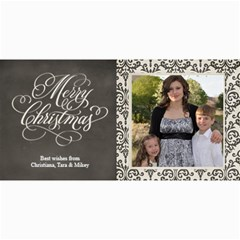 Christmas Sentiments Ii Card No  2 By One Of A Kind Design Studio   4  X 8  Photo Cards   1zvnou7htr9j   Www Artscow Com 8 x4 Photo Card - 4