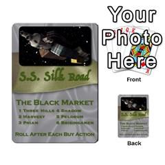 The Silk Road By Matthew   Multi Purpose Cards (rectangle)   B4wmx07kydmz   Www Artscow Com Back 29