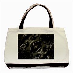 Melted Liquorish  Twin Sided Black Tote Bag by OCDesignss