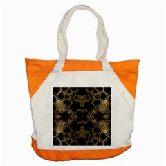 Golden Skulls  Accent Tote Bag by OCDesignss