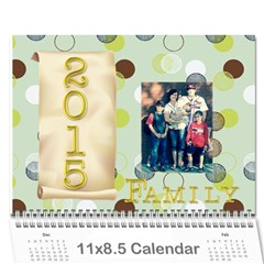 Pam Calendar By Stacey Mulvaney   Wall Calendar 11  X 8 5  (12 Months)   385g9co2d6aj   Www Artscow Com Cover