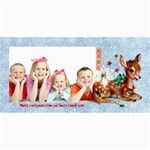 Christmas Companions Card No. 1 - 4  x 8  Photo Cards