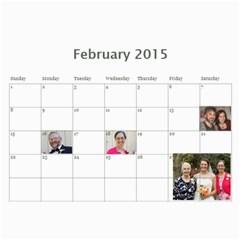2015 Stauffer Calendar By Getthecamera   Wall Calendar 11  X 8 5  (12 Months)   8snwpr4zmj4j   Www Artscow Com Feb 2015