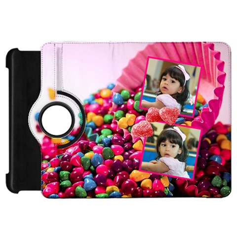Yummy Yummy   Kindle Fire Hd Cover By Ivelyn   Kindle Fire Hd Flip 360 Case   4z3phzpfl2yn   Www Artscow Com Front