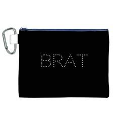 Brat Bling Canvas Cosmetic Bag (xl) by OCDesignss