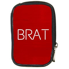 Brat Red Compact Camera Leather Case by OCDesignss