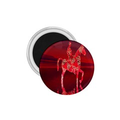 Riding At Dusk 1 75  Button Magnet by icarusismartdesigns