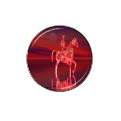 Riding At Dusk Golf Ball Marker 4 Pack (for Hat Clip) by icarusismartdesigns