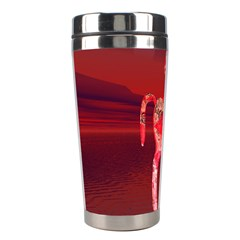 Riding At Dusk Stainless Steel Travel Tumbler by icarusismartdesigns