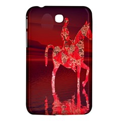 Riding At Dusk Samsung Galaxy Tab 3 (7 ) P3200 Hardshell Case  by icarusismartdesigns