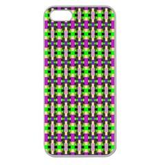 Pattern Apple Seamless Iphone 5 Case (clear) by Siebenhuehner