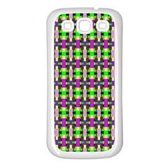 Pattern Samsung Galaxy S3 Back Case (white) by Siebenhuehner