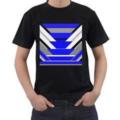 Pattern Men s T Shirt (black) by Siebenhuehner