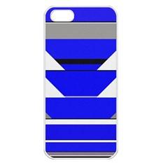 Pattern Apple Iphone 5 Seamless Case (white) by Siebenhuehner
