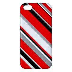 Pattern Apple Iphone 5 Premium Hardshell Case by Siebenhuehner