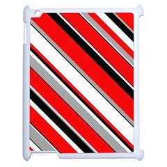 Pattern Apple Ipad 2 Case (white) by Siebenhuehner
