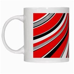 Pattern White Coffee Mug by Siebenhuehner