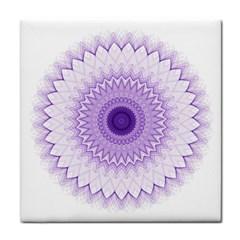 Mandala Ceramic Tile by Siebenhuehner