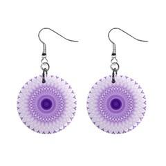 Mandala Mini Button Earrings by Siebenhuehner