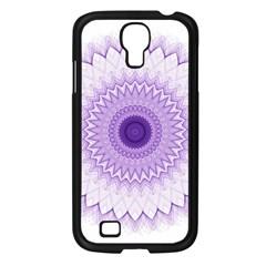 Mandala Samsung Galaxy S4 I9500/ I9505 Case (black) by Siebenhuehner