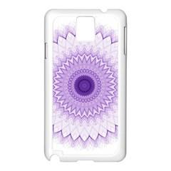 Mandala Samsung Galaxy Note 3 N9005 Case (white) by Siebenhuehner