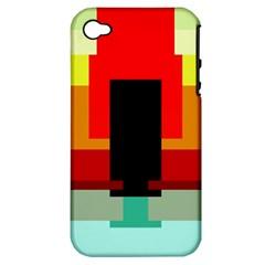 Pattern Apple Iphone 4/4s Hardshell Case (pc+silicone) by Siebenhuehner