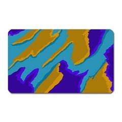 Pattern Magnet (rectangular) by Siebenhuehner