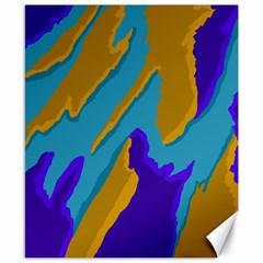 Pattern Canvas 8  X 10  (unframed) by Siebenhuehner