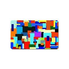 Pattern Magnet (name Card) by Siebenhuehner