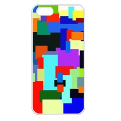 Pattern Apple Iphone 5 Seamless Case (white) by Siebenhuehner