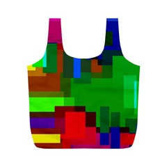 Pattern Reusable Bag (m) by Siebenhuehner