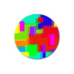Pattern Magnet 3  (round) by Siebenhuehner