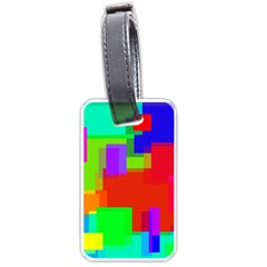 Pattern Luggage Tag (two Sides) by Siebenhuehner