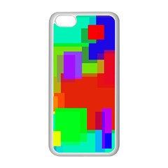 Pattern Apple Iphone 5c Seamless Case (white) by Siebenhuehner