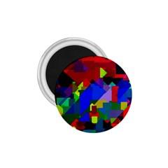 Pattern 1 75  Button Magnet by Siebenhuehner