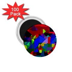 Pattern 1 75  Button Magnet (100 Pack) by Siebenhuehner