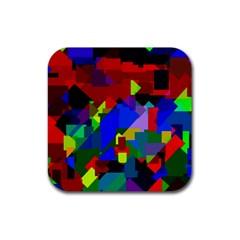 Pattern Drink Coaster (square) by Siebenhuehner
