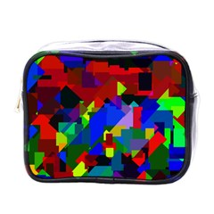 Pattern Mini Travel Toiletry Bag (One Side) by Siebenhuehner