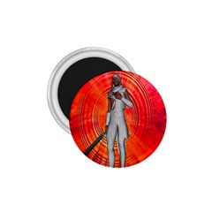 White Knight 1 75  Button Magnet by icarusismartdesigns